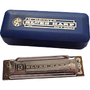 Hohner 10 Hole Blues Harp C Harmonica, Never Played