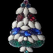 Christmas Tree Pin Fruit Salad Glass, Book Piece