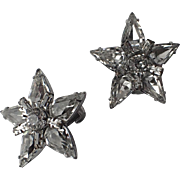 Weissco - Weiss Star Rhinestone Earrings