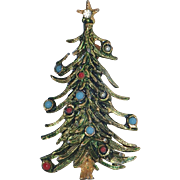 Petite 1950's Christmas Tree Pin