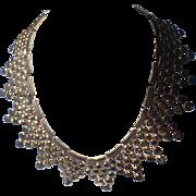 Monet 1954 Necklace Splendor Egyptian Revival Collar, Magazine Ad Piece