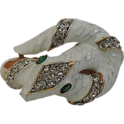 Trifari 1968 Garden of Eden Collection Snake Ring