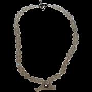 Martha's Vineyard Island Sea Glass and Crystal Necklace