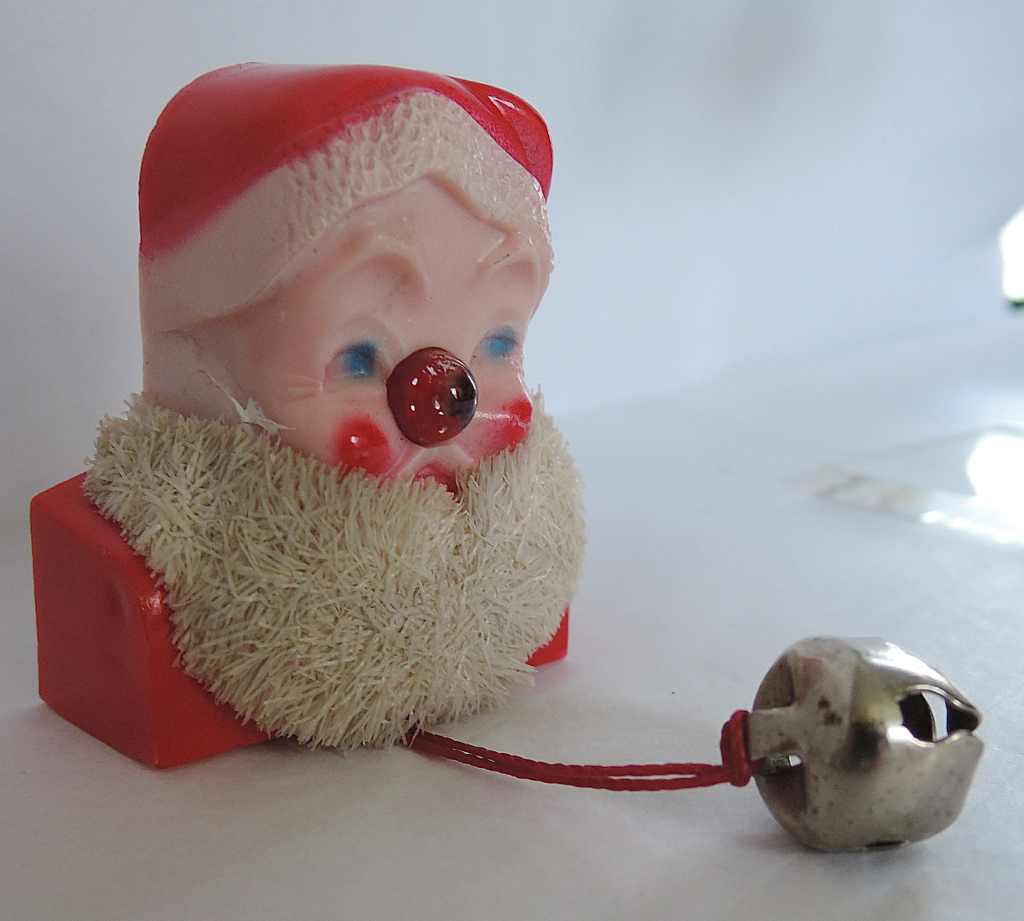 Best santa nose light up pin kitschy