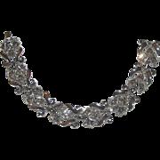 "Trifari 1951 Alfred Philippe ""Diamond"" Rhinestone Bracelet"