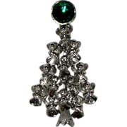 MV Signed Angels Peace Symbol Christmas Tree Pin ~ Book Piece