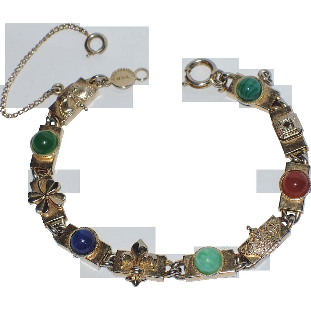 Accessocraft N.Y.C. Good Luck Link Bracelet