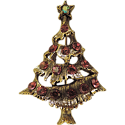 Pretty in Pink Christmas Tree Pin