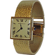 Hardy and Hayes 14K Gold Sapphire Ladies Wristwatch