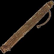 RARE Weiss Snake Chain Rhinestone Bracelet