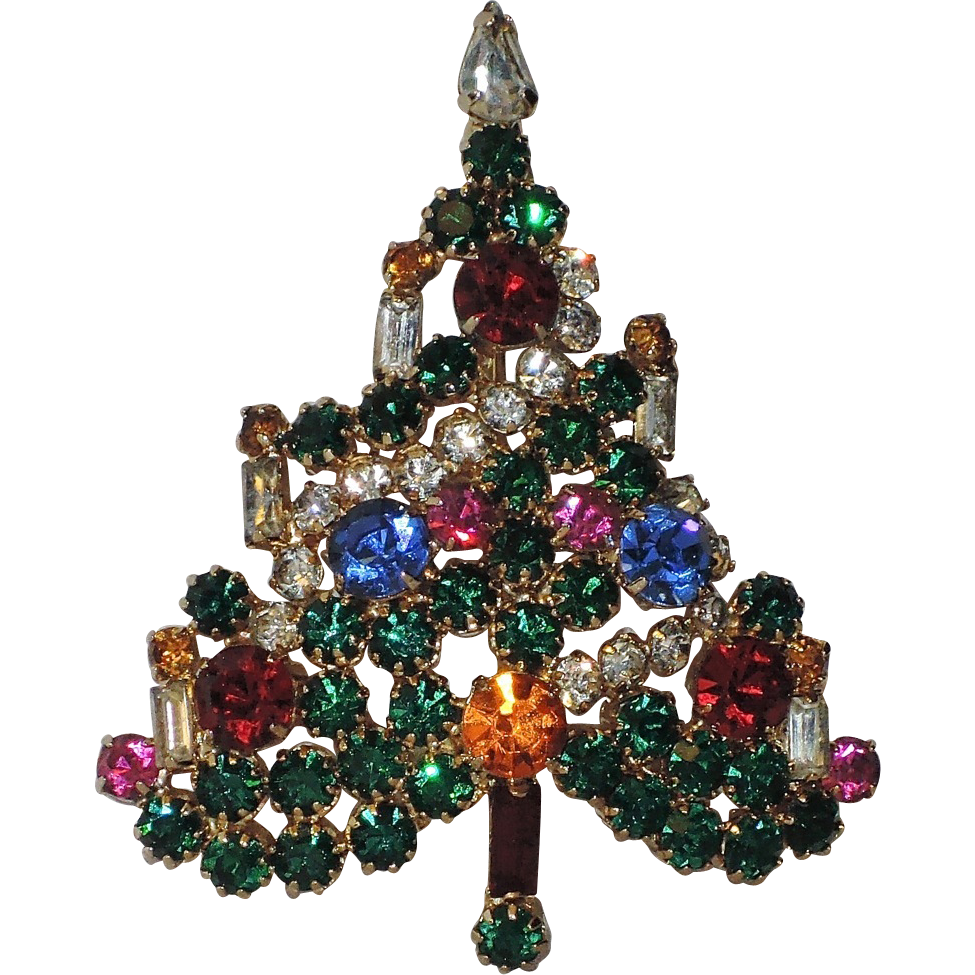 St. Labre Garland Christmas Tree Pin, Book Piece