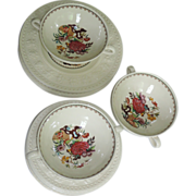 Wedgwood 1962 Wellesley Bullfinch Soup & Salad Set
