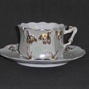 Art Noveau Cup & Saucer