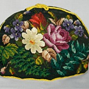 Victorian Needlepoint Tea Cozy - Red Tag Sale Item