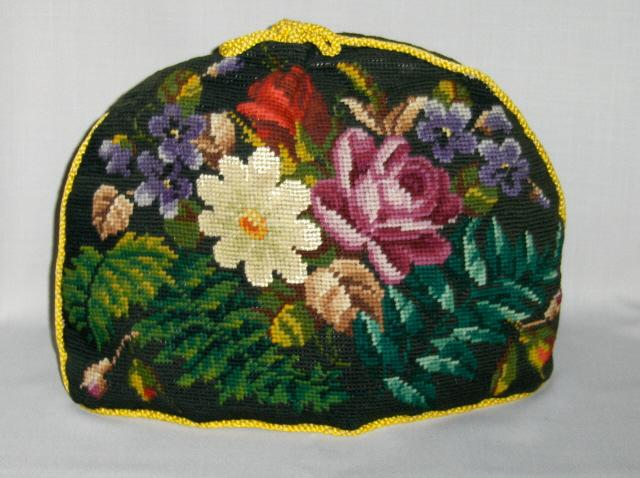 Victorian Needlepoint Tea Cozy