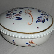 Circa 1920 Porcelain Covered Dish