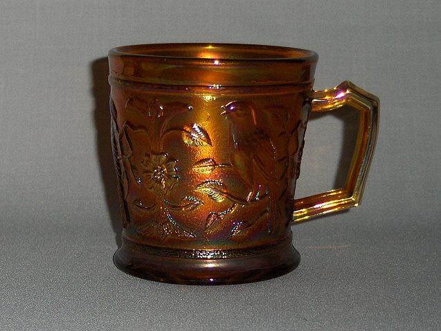 Vintage Carnival Glass Mug