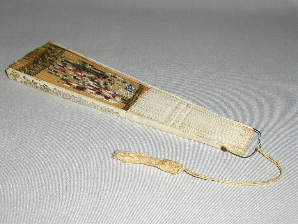 Victorian Souvenir Fan