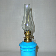 Antique Miniature Oil Lamp