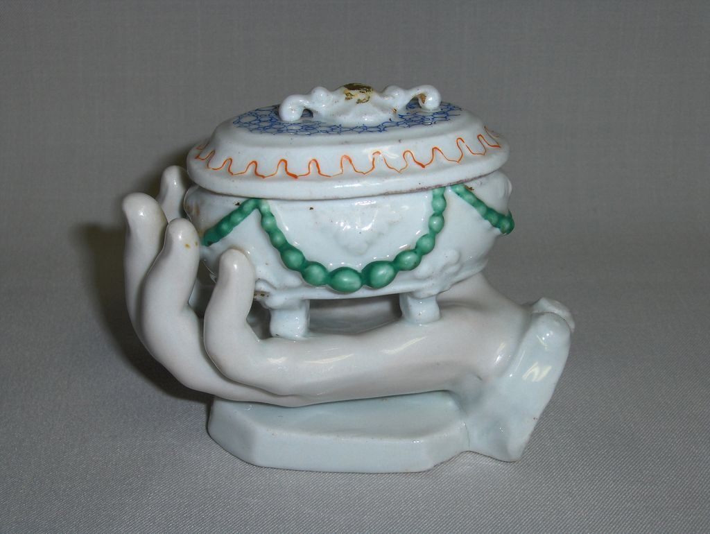 Bavarian China Trinket Box