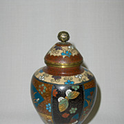 Antique Japanese Cloisonne Jar