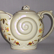 "Hall ""Autumn Leaf""  Nautilus Teapot"