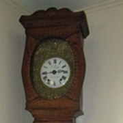 Antique French Country Tall Clock