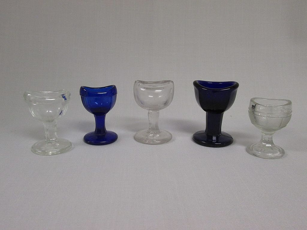 Assortment of Vintage Eyewash Cups