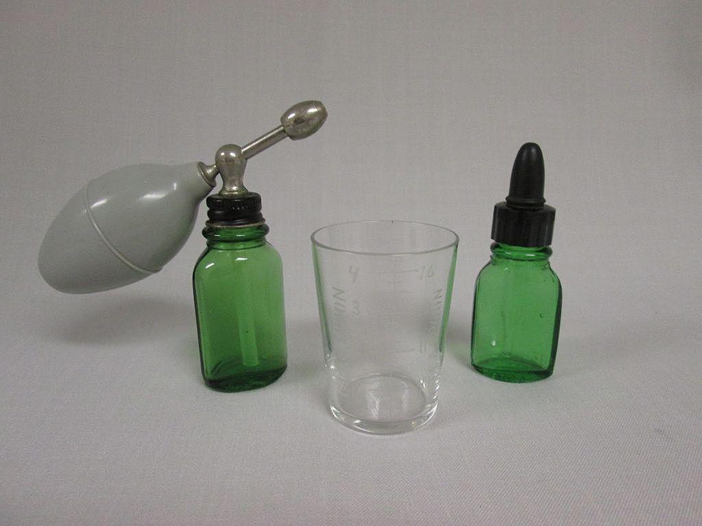 Assortment of Vintage Medicine Bottles