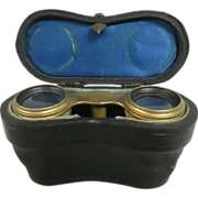 Antique Opera Glasses with Case