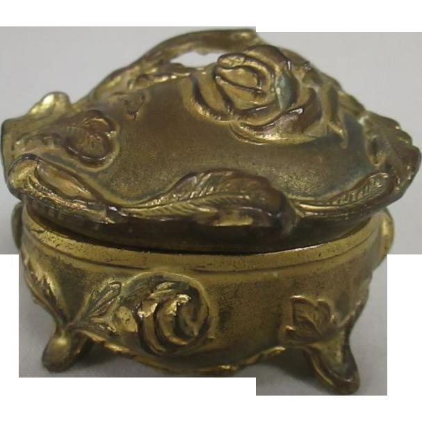 Vintage Jewelry Casket