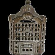 Antique Cast Iron Coin Bank