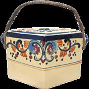Vintage Moriyama Biscuit Jar