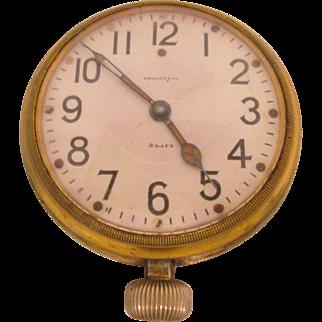 Rare Antique Auto Clock