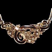 Vintage Trifari Alfred Philippe Promenade Rhinestone Necklace