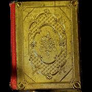 Antique 19th Century Viennese MINIATURE Mignon Book