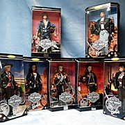 Rare Set of Harley Davidson Barbie and Ken Dolls LIMITED EDITION