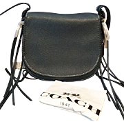 COACH Purse Handbag Whiplash Saddle Bag 1941 LIMITED EDITION Great Color Mint SOLD OUT