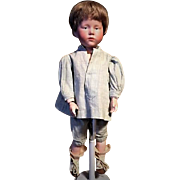 Antique Kammer and Reinhardt German Boy Pouty Character Doll Incised 101 Peter C1910