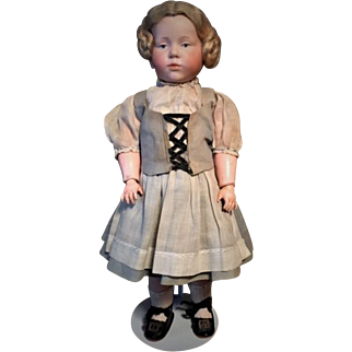 Antique Kammer and Reinhardt German Pouty Character Doll Incised 101 Marie C. 1910