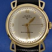 Elgin Self-Winding Shockmaster Wristwatch.
