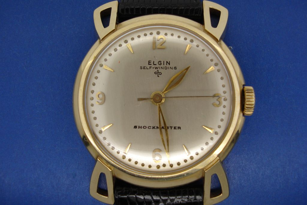 Elgin Self-Winding Shockmaster Wristwatch.