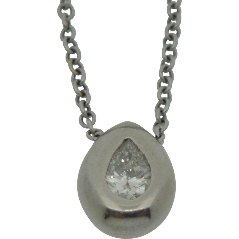 14K  Diamond Pendant with Necklace