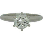 1 ct Natural Diamond Solitaire Ring