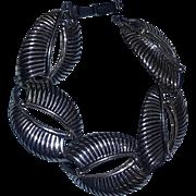 Vintage Mid Century Modern Modernist Sterling Silver Bracelet Danecraft