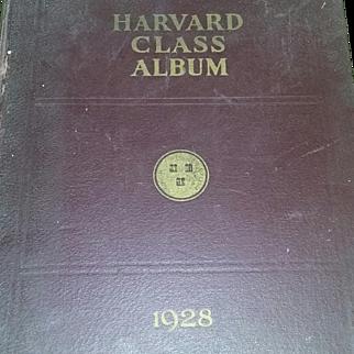 Harvard University Yearbook Book 1928 Rare Scarce Football Estate