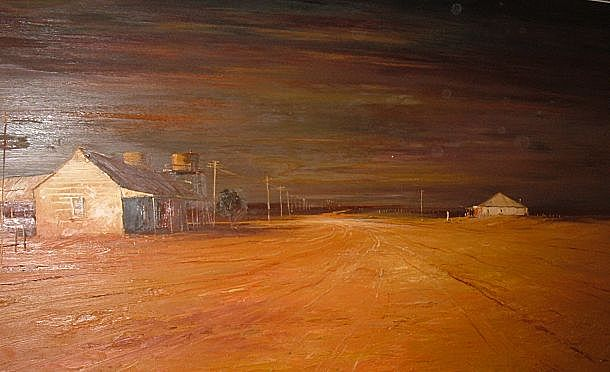 Huge Oil On Board Painting Listed Artist Australian Colin Parker 1970 Queensland Absolutely Beautiful and Masterfully Done
