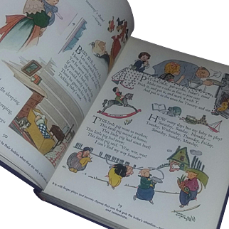 Vintage RARE Children's Book Bookhouse Book Salesman Advertising Sample Bookhouse 1956