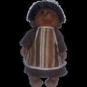 Vintage Denmark Rare Troll Doll Hedgehog Hedgie with box