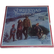 Vintage 80's Christmas Vinyl Record Set New SEALED Readers Digest Christmas through the years Vinyl Lp